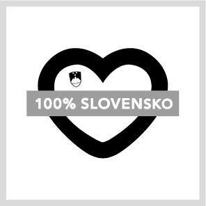 100% SLOVENSKO