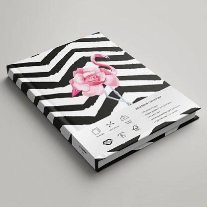 Rokovnik MeMe - Fashion flamingo