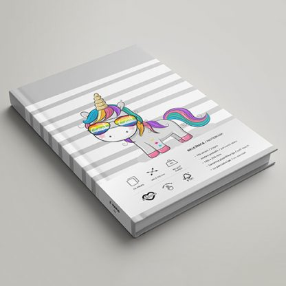 Rokovnik MeMe - Unicorn